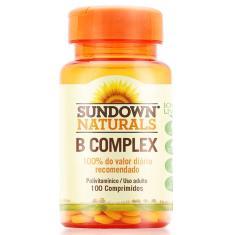 Complexo B Sundown C/ 100 Comprimidos