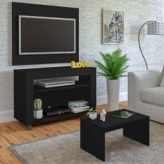 Imagem de Rack Com Painel Para Tv Até 32 Polegadas E Mesa De Centro Star Artely