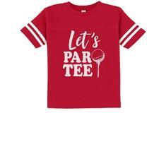 Imagem de Tstars - Let's Par-tee camiseta de jérsei de presente divertido para amantes de golfe, , 4T