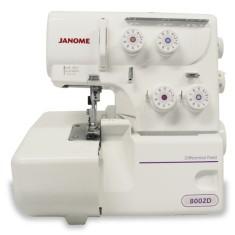 Máquina de Costura Doméstica Overloque 8002D - Janome