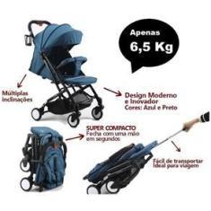Imagem de Carrinho de Bebê Smart Color Baby Leve Compacto até 15kg