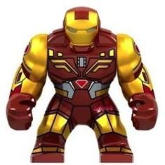 Imagem de Super Heroes Homem de Ferro Big Compatível Com LEGO - Minifigura De Montar