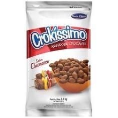 Amendoim Crocante Crokissimo Churrasco 1,01kg - Santa Helena
