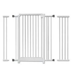 Imagem de Combo kit grade portão para porta mais 2 extensores de 70cm 80cm 90cm a 1 metro