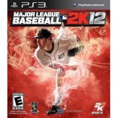 Jogo Major League Baseball 2K12 PlayStation 3 2K