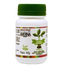 Color Andina Adoçante Em Pó 100% Natural Stévia - 40 g