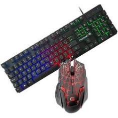 Imagem de Kit Teclado Rg E Mouse Gamer Spider Custo Beneficio 3200 Dpi