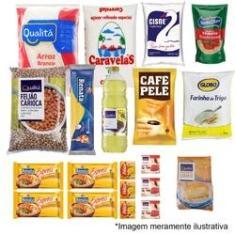 Imagem de Cesta Básica de Alimentos Completa - 20 Itens