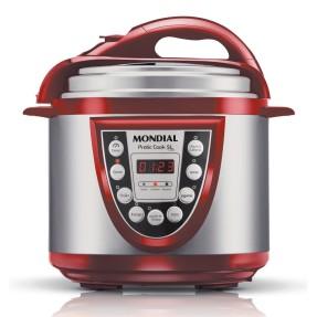 Panela de Pressão Elétrica 5 Litros - Mondial Pratic Cook PE-12