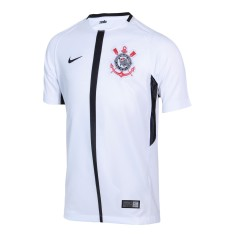 b7137bb158 Camisa Infantil Corinthians I 2017 18 Sem Número Torcedor Infantil Nike