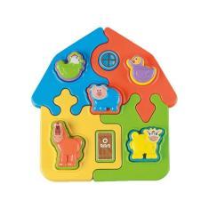 Imagem de Puzzle Mania Fazenda Didatico Infantil - Calesita