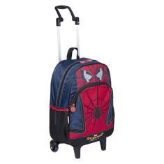 Mochila com Rodinhas Escolar Sestini Spiderman