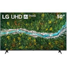 """Smart TV LED 50"""" LG ThinQ AI 4K HDR 50UP7750PSB"""