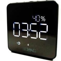 Imagem de Rádio Relógio Despertador Digital Bluetooth/Aux/Sd LE-673