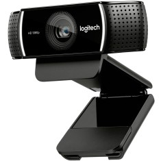 WebCam Logitech 2 MP Filma em Full HD C922