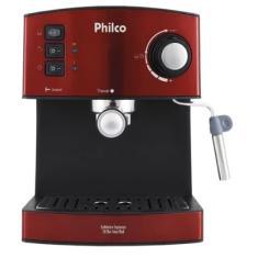 Imagem de Cafeteira Expresso 2 Xícaras Philco Expresso 20 Bar Inox Red
