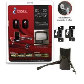 "Suporte para TV LCD/LED/Plasma Parede 14"" a 70"" Indusat SC-150I"