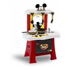 Imagem de Cozinha Mickey Disney Infantil Pia Fogão Brinquedo Xalingo
