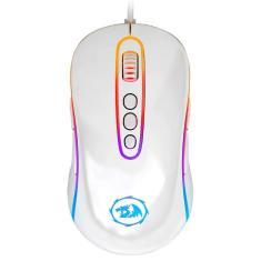 Imagem de Mouse Gamer Redragon Phoenix 2 - 10000dpi - 9 Botões Programáveis - LED RGB - Lunar White - M702W-1