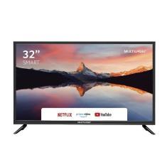 """Smart TV LED 32"""" Multilaser TL011 3 HDMI LAN (Rede)"""