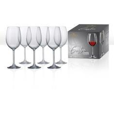 Imagem de Jogo De 6 Taças Cristal Bohemia Para Vinho Tinto 450ml