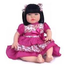 Imagem de Boneca Bebe Reborn Barato Barata Super Promoção Baby Kiss