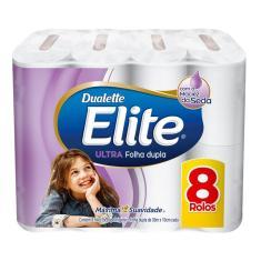 Imagem de Papel Higienico Folha Dupla Elite 8 Rolos