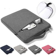 Imagem de Capa de Bolsa para Samsung Galaxy Tab S7 11 ''T870 Saco de manga tampa da tampa S7 Plus 12.4 2020 à Prova de choque multi bolsos bolsa Saco Capa