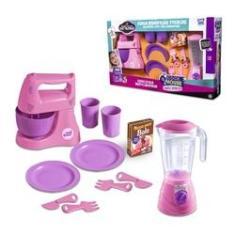 Imagem de Cozinha De Brinquedo Meninas Cook House  Com Batedeira Liquidificador E Acessorios