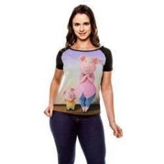 Imagem de Camiseta Raglan Sing Rosita Stage Baby Look