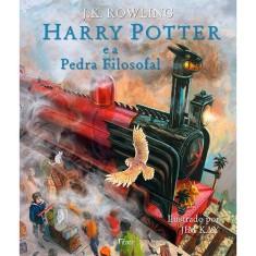 Harry Potter e A Pedra Filosofal - Edição Ilustrada - Rowling, J. K. - 9788532530271