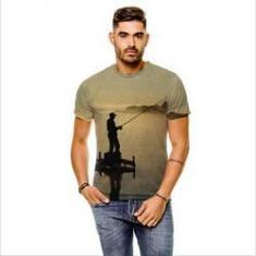 Imagem de Camiseta Pesca Esportiva Sunset  Masculina