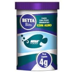 Imagem de Ração Mega Food Betta Bits 4g com Alho