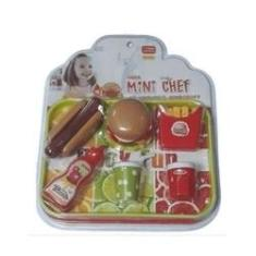 Imagem de Mini Chef Kit Lanchonete Hamburger - Xalingo
