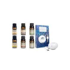 Aromatizador Difusor Usb Led Via Aroma e 6 Óleos Essenciais Naturais