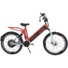 Imagem de Bicicleta Elétrica Duos Bikes Aro 26 Suspensão Dianteira Freio a Disco Mecânico Confort Full