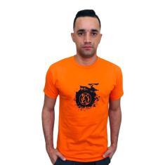 Imagem de Camiseta Lobo Skate Laranja C028
