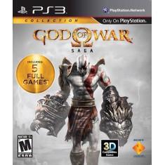 Jogo God Of War Saga PlayStation 3 Sony