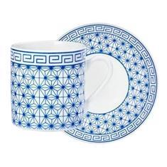 Conjunto de Xícaras Café Grécia Hauskraft 12 peças