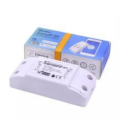 Imagem de Sonoff Interruptor Rf 433 - Por Controle Remoto Ou Wi-Fi