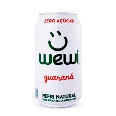 Imagem de Refrigerante All Natural Super Zero Guaraná Wewi 350ml