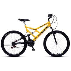 Bicicleta Colli Bikes 21 Marchas Aro 26 Suspensão Full Suspension Freio V-Brake Full-S GPS 148