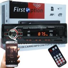 Imagem de Media Receiver First Option 6680BSC Bluetooth USB