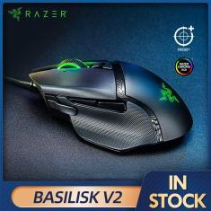Imagem de Razer-mouse com fio para jogos de computador, mouse com fio rgb versão 2