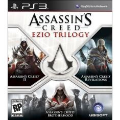 Jogo Assassin's Creed Ezio Trilogy PlayStation 3 Ubisoft