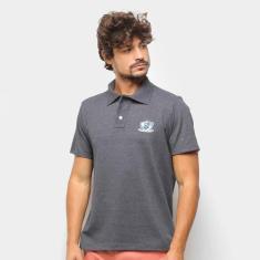 Imagem de Camisa Polo Suburban Piquet Mini Logo Estilizado Masculina