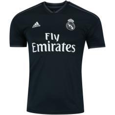 Camisa Real Madrid II 2018 19 Torcedor Masculino Adidas cb4ce6e5c8607