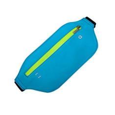 Imagem de MEIYIN Bolsa esportiva para cintura, bolsa esportiva de cintura, bolsa para viagem, corrida, cinto fino para celular para homens e mulheres
