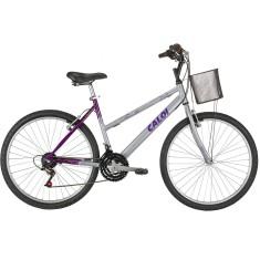 e434ed517 Bicicleta Caloi Aro 26 21 Marchas Ventura