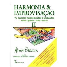 Imagem de Harmonia & Improvisacao Vol. II - Chediak, Almir - 9788574072647
